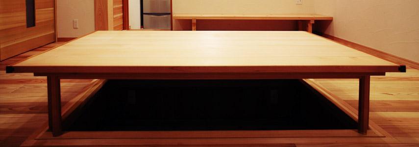 無垢の木を使った家具・小物