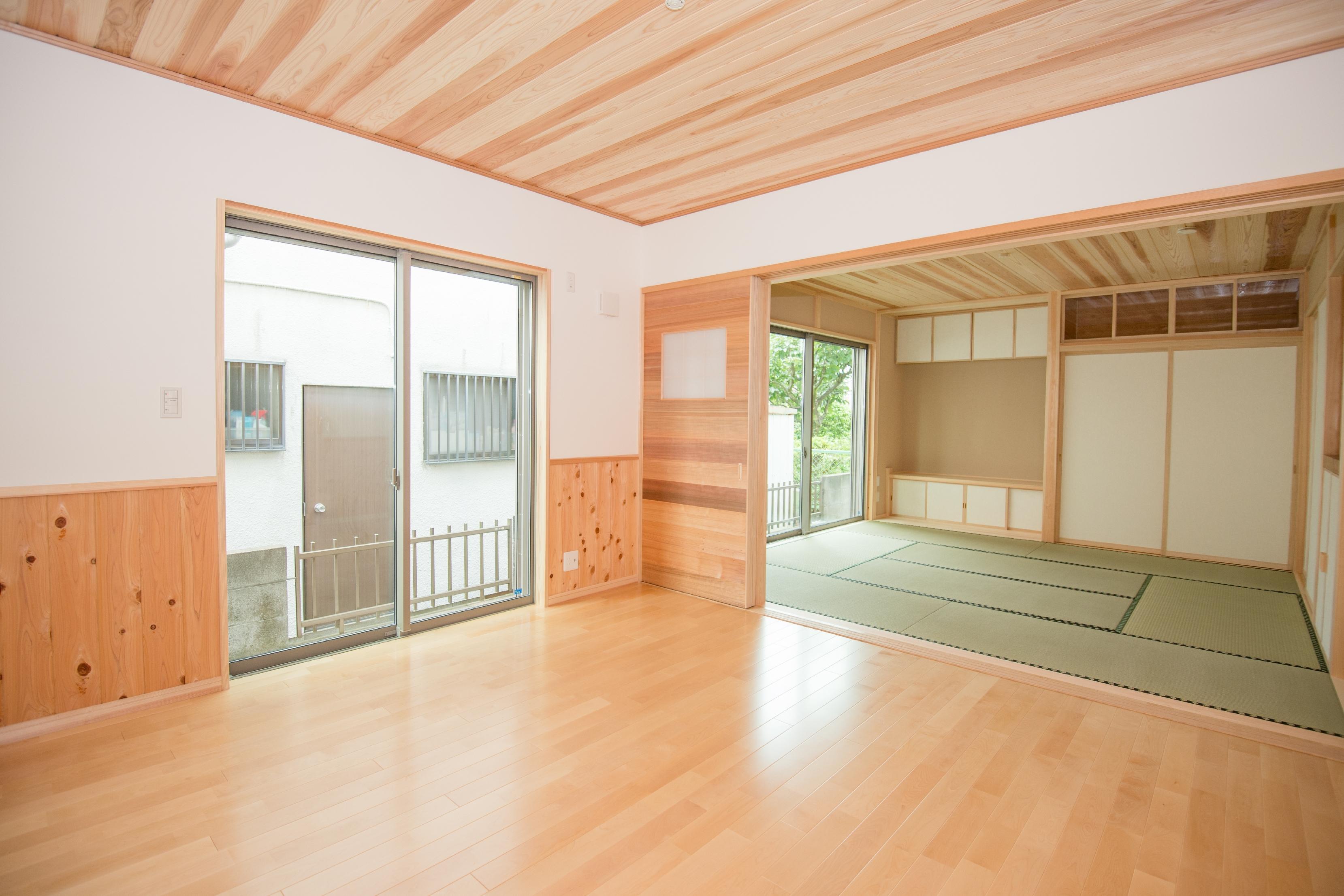 昭島市:2世代モダン和風の家
